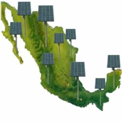 mapa de mexico energia limpia ecoogia