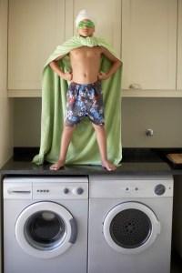 Lavado de ropa ecológico - con Super Hero