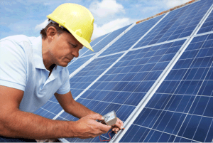 mejores paneles solares en el techo