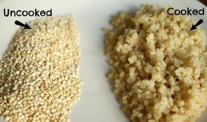 beneficios para la salud de la quinua - cocida