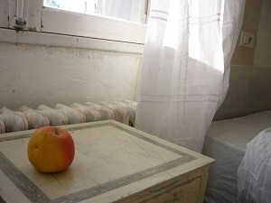 Las cortinas ecológicas son naturales, a veces rústicas.