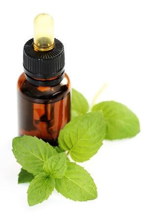 aceite esencial de menta para dejar de roncar