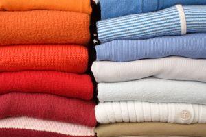 suéteres lavados