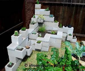 complejo de jardineras de ceniza