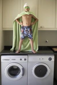 limpiar una lavadora