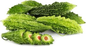use melón amargo para obtener mejores jugos para diabéticos