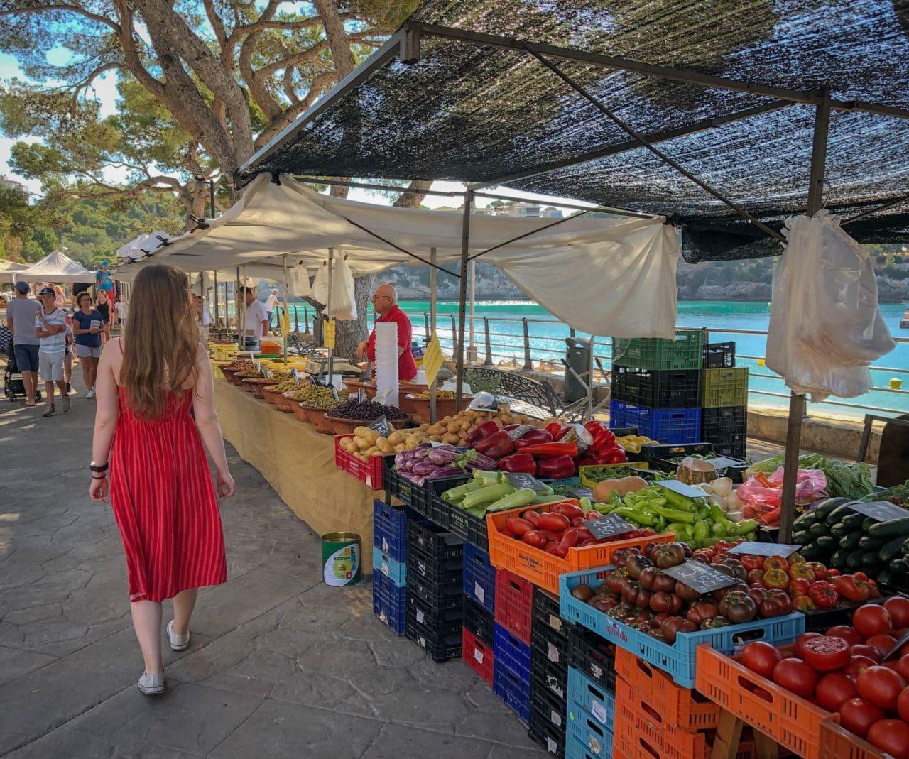 mercados de agricultores: compre alimentos orgánicos baratos